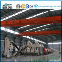 Línea de producción completa para planta de molienda de pellets de paja de arroz