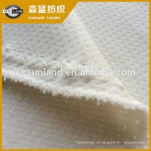 poliéster escovado tecido de malha de lã