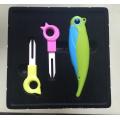 Подарок промотирования бесплатно для керамической складной нож и фрукты Форкс