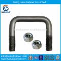 Fabriqué en Chine Support en acier inoxydable personnalisé en acier inoxydable avec noix