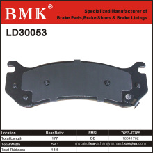 High Quality Brake Pad (LD30053) for American Car