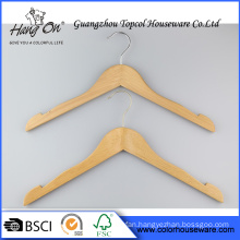 Garment wooden hanger for clothes