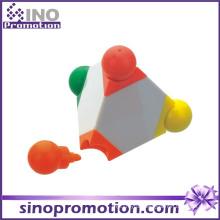3D Highlighter 4 in 1 Highlighter Marker Promitional Marker Pen