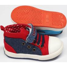 Chaussures bébé de conception récente Chaussures pour bébés avec semelle confortable (SNB-18-0008)