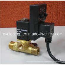 Válvula solenoide de drenaje del temporizador
