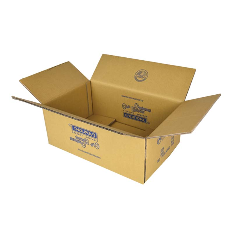 Yellow Corrugated Carton
