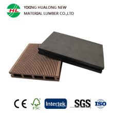 Anti-UV Hollow Wood Plastic Composite Decking for Outdoor Garden Floor (M139)