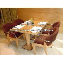 Modern durable design restaurant table and chair set XDW1259