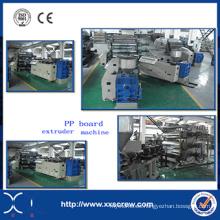 Máquina de plegado de extrusión de láminas / placas de plástico PP
