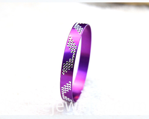 Wing Patterns Aluminium Alloy Bangles