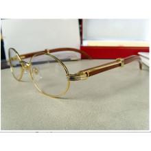 Molduras de madeira / Óculos de sol para homem / Marcas famosas Óculos de sol (52-22)
