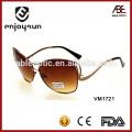 Gafas de sol marrones del metal del color al por mayor Alibaba