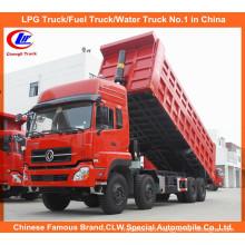 12 Wheels Dongfeng Tipper Truck Dongfeng Dump Truck with Cummins Engine