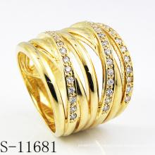 Fashion18k plaqué or bijoux Lady Ring (S-11681)