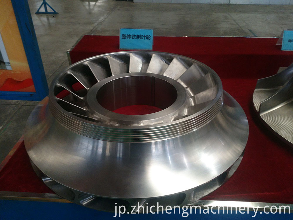 Closed Impeller Design