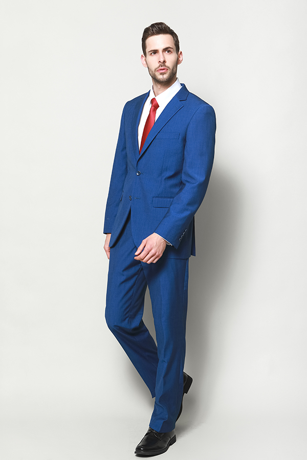 MEN'S CLASSIC SUITS WITH WOOL TOUCH
