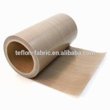 Fabricant Meilleur qualité PTFE Tissu en tissu Tissu en verre teflon Tissu en fibre de verre revêtu de PTFE