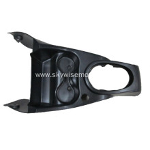 Plastic molding for automotive cup holder