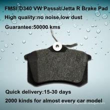 VW passat B5 oe quality Low-metal brake pad D340
