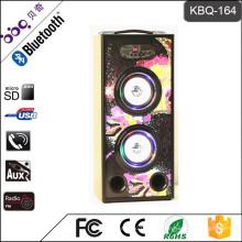 Unterstützung U Disk / TF / Line-in / FM Radio drahtlose intelligente LED Lampe Handwerk Audio Lautsprecher