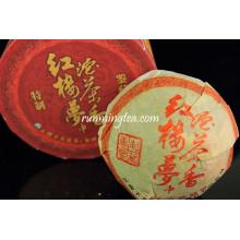 """2008 Xiaguan """"Sueños de la Cámara Roja"""" Raw Pu Er Tea, 100g / tuo"""