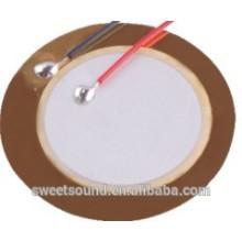 Керамический пьезоэлектрический pzt 27mm 4.5khz пьезоэлектрический керамический зуммер