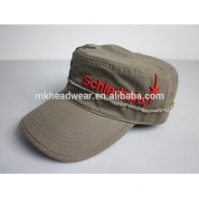 Chapeau militaire chinois de haute qualité en broderie 3D