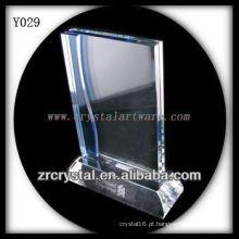 Foto em branco de cristal Y029
