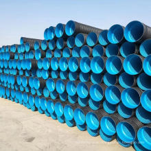 SN4 SN8 SN16 double wall corrugated hdpe pipe dwc hdpe plastic culvert pipe