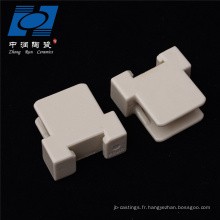Pièces personnalisées en stéatite de céramique alumine industrielle