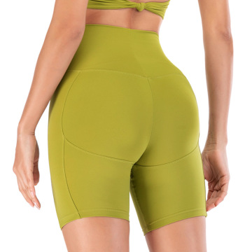 Pantalon court de compression femme