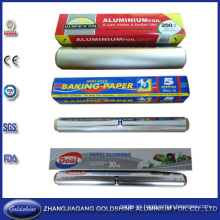 OEM Box Roll de papel de aluminio para microondas