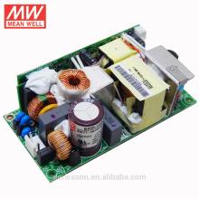 MEANWELL 15W a 400W serie tamaño pequeño 150W fuente de alimentación de marco abierto 24vdc con función PFC CUL TUV CB CE EPP-150-24