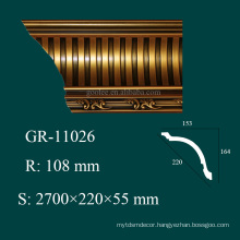 construction material PU crown moulding angles for house interior decoration