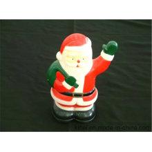 Bester Preis PVC Baby Geschenk Großhandel Vinyl Kunststoff Phantasie Weihnachten Weihnachtsmann Spielzeug