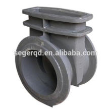 cast iron pump parts twin screw valve body