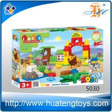 Wholesale ABS plastic DIY intellect building blocks toy for kids