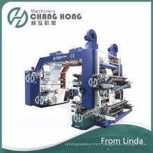 Machine à imprimer haute qualité à quatre couleurs non tissée (CE)