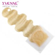 Brasilianische Körperwelle Blond Lace Closure