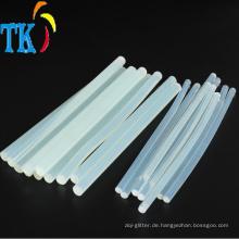 Schmelzklebstoff Transparenter Klebestift für Handicraft.