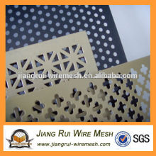 High quality best price Custom shape Perforated metal mesh
