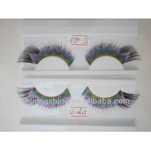 2015 hot design cheap three color false silk fashion single eyelashes