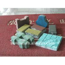 interlocking brick making machine QFT10-15