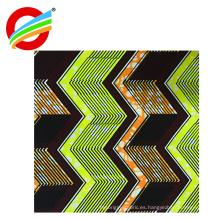 buen servicio 100% algodón cera africana estampa textiles de tela