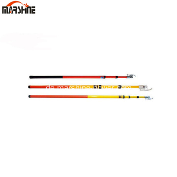 4Section Insulated Telescopic Hot Stick