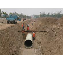Tubo de fibra de vidro para transporte de água ou Chemcail