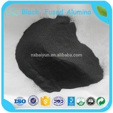 Feuerfester Grad 85% Al2O3 3-5mm schwarzes geschmolzenes Aluminiumoxid