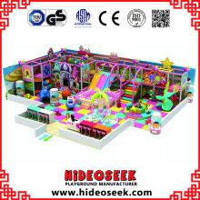 Süßigkeits-Schloss-Art-Innenvergnügungspark-Ausrüstung mit Bällen