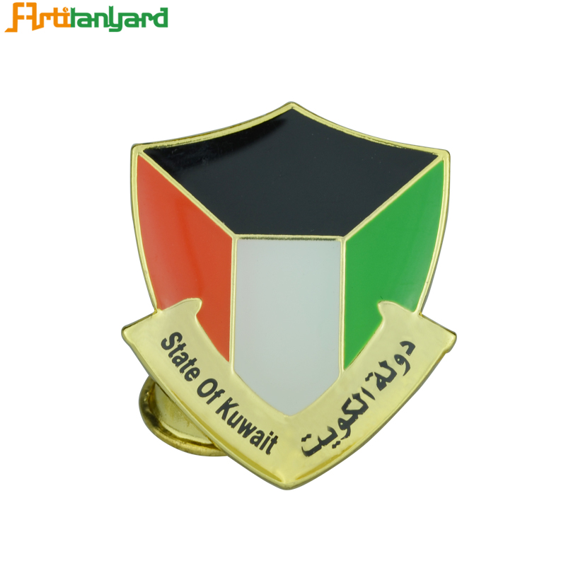Custom Design Zinc Alloy Metal Badge