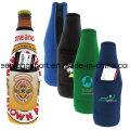De moda y personalizado aislados neopreno botella refrigerador, titular de la botella